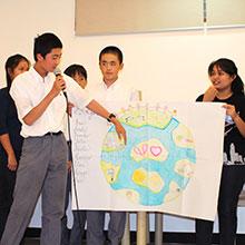 中学校 グローバル・リーダー・プロジェクト スタート