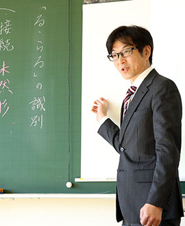 国語科主任 畠 篤史先生