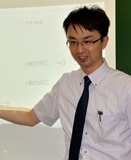数学科主任 萩原 賢紀先生
