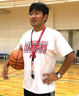保健体育科主任 小林 孝至先生