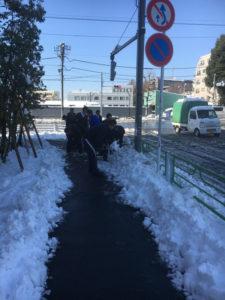 雪かきの活動-3