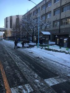 雪かきの活動-4