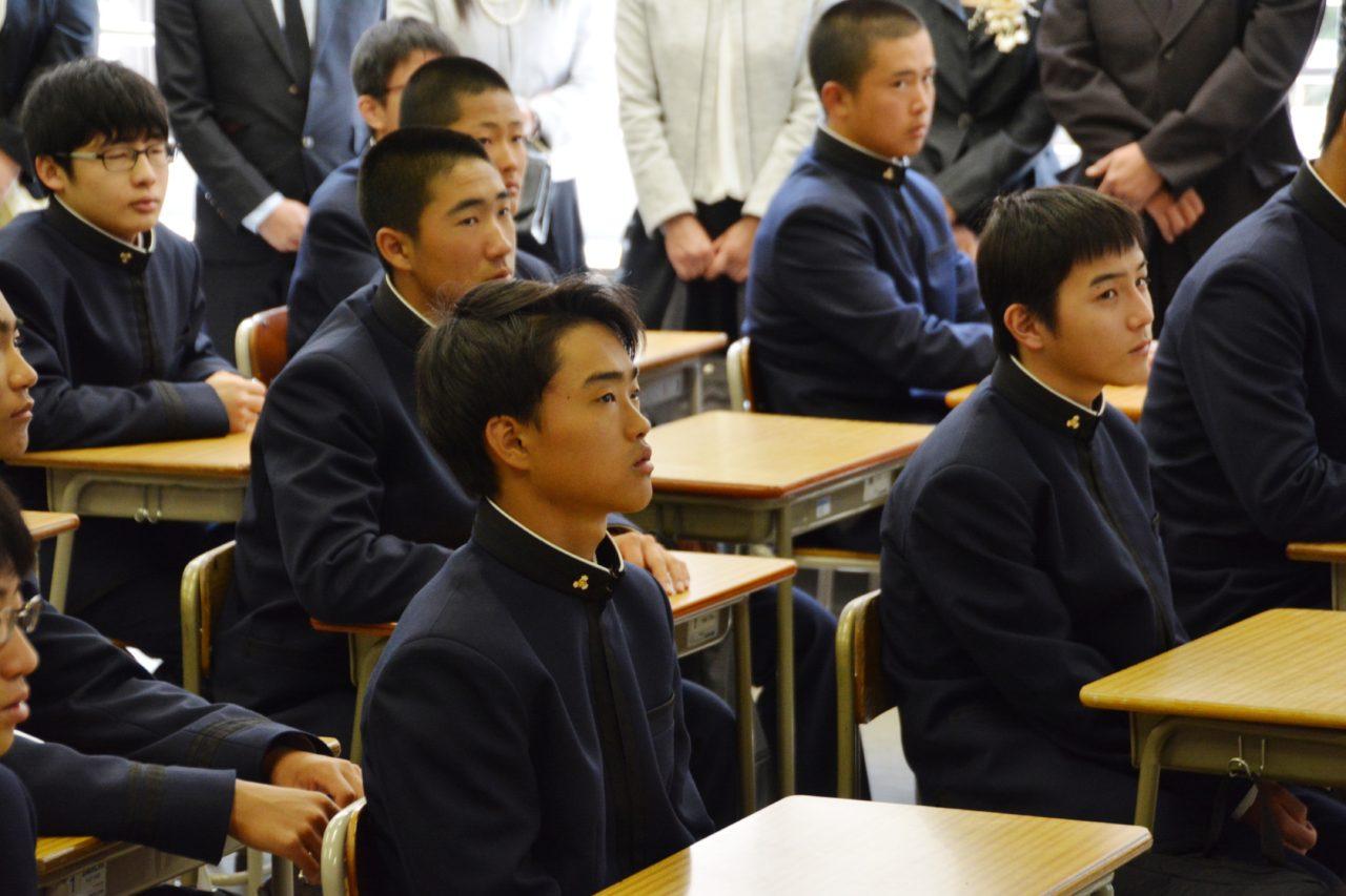 【中学】【高校】 平成30年度 入学式が挙行されましたKOSEI BOYS佼成学園中学校・高等学校