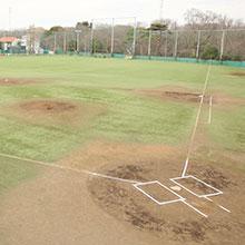 総合グラウンドを人工芝に改修