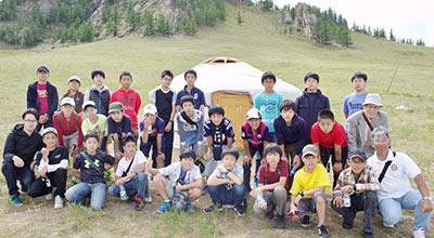 モンゴル異文化体験の様子
