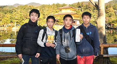 中2 歴史教室(京都・奈良)での一コマ