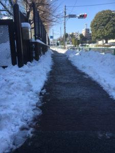 雪かきの活動-8